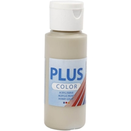 Plus color Verf 60 ml. steen beige