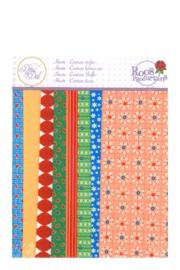 Stofpakket Floral squares