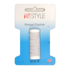 Rimpelelastiek 30 mm.