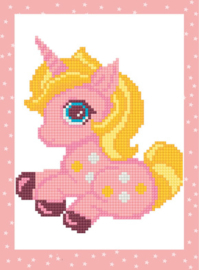 Diamond Dotzies Pink Unicorn