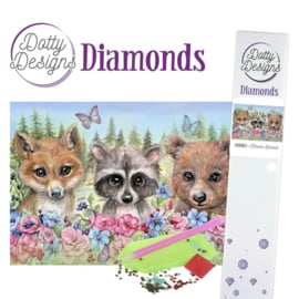 Diamond painting Dotty Design -Forest Animals