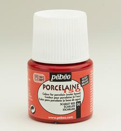 PéBéo Porcelaine (porseleinverf) 024-006 Scrarlet
