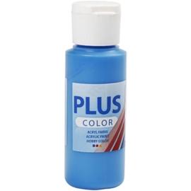 Plus color Verf 60 ml. primair blauw