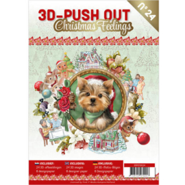 3D Push out boek Christmas Feelings nr. 24