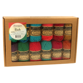 Scheepjes Softfub Colour pack Rich 12 bolletjes