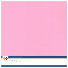 Linnen karton 30,5 x 30,5 cm. Roze