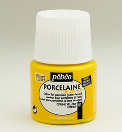 PéBéo Porcelaine (porseleinverf) 024-001 Citrine