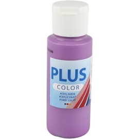 Plus color Verf 60 ml. donker lila
