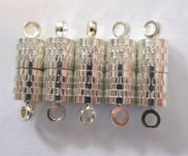 Magneet sluiting 8 mm. - 5 st.
