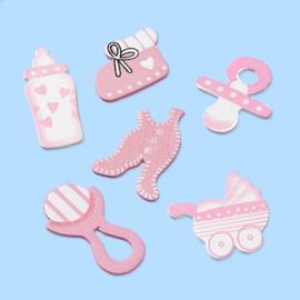 Baby assortiment roze
