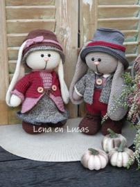 Funny Bunny Lena en Lucas