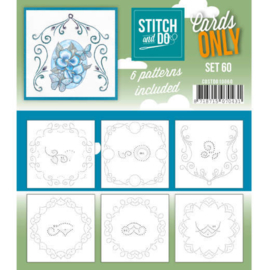 Cards Only Stitch 60