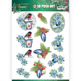 Uitdrukvel 3D Christmas Flowers - Lantern