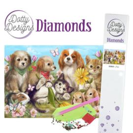 Diamond painting Dotty Design Pets