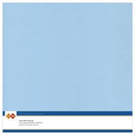 Linnen karton 30,5 x 30,5 cm. Zachtblauw