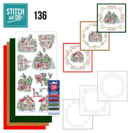 Stitch and Do Villages nr. 136