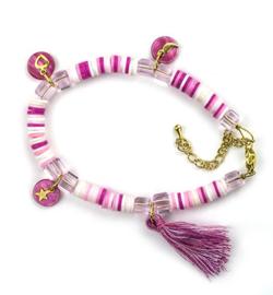 DIY set Katsuki armband mix pink