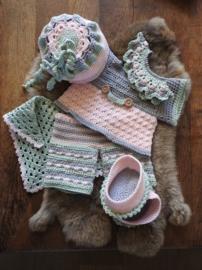 XXL Bunny kledingset Spring soft