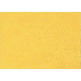 Glittervilt geel