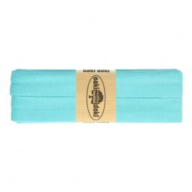 Jersey biasband 20 mm. turquoise