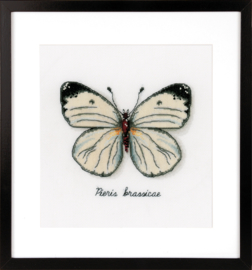Borduurpakket Witte vlinder