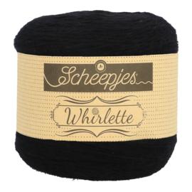 Scheepjes Whirlette 851 Liquorice zwart