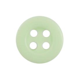 Knoop licht groen 6 stuks