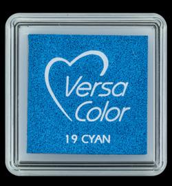 VersaColor Small Inktpad small Cyan