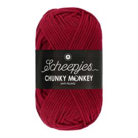 Scheepjes Chunky Monkey  1123 garnet