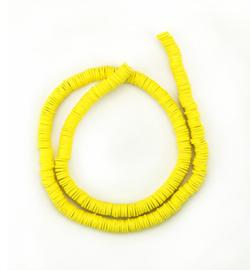 Katsuki beads 6 mm. yellow