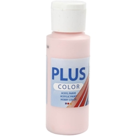 Plus color Verf 60 ml. licht roze