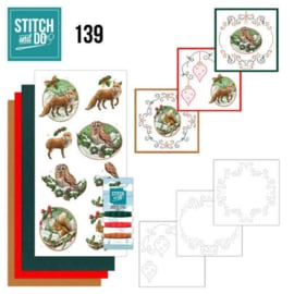 Stitch and Do Christmas Animals nr. 139