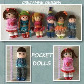 Gehaakte Pocket Dolls papieren patroon