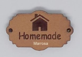 "Label leer tekst ""Homemade"""