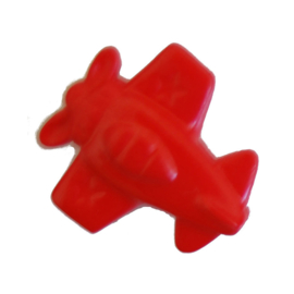 Knoop rood 3 stuks