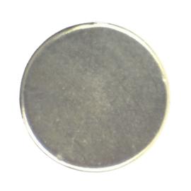 Schijfmagneet 12 x 3 mm. 2 stuks
