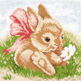 Diamond painting Bunny