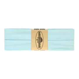 Jersey biasband 20 mm. licht blauw
