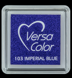 VersaColor Small Inktpad small Imperial Blue