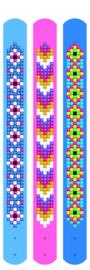 3 Armbanden Daisies