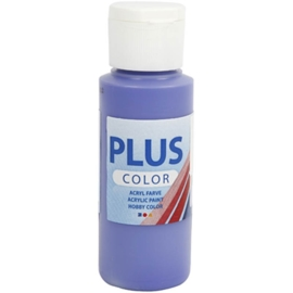 Plus color Verf 60 ml. violet blauw