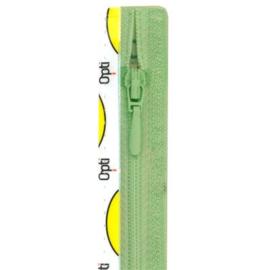Opti rits druppel 40 cm., niet deelbaar mint