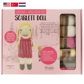 Tuva Amigurumi haakpakket Scarlett Doll