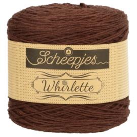 Scheepjes Whirlette 863 Chocolate bruin
