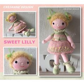 Sweet Lily papieren patroon