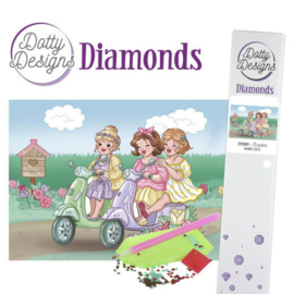 Diamond painting Bubbly Girls