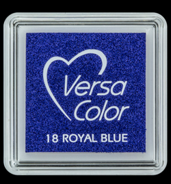 VersaColor Small Inktpad small Roal Blue