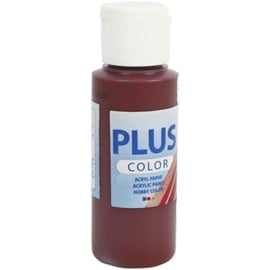 Plus color Verf 60 ml. bordeaux rood