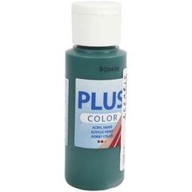 Plus color Verf 60 ml. donker groen