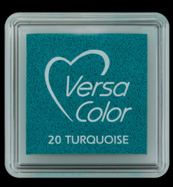 VersaColor Small Inktpad small Turquiose